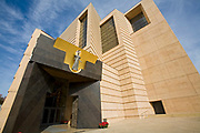 Cathedral of Our Lady of the Angels by architect Rafael Moneo, Downtown Los Angeles, California, USA