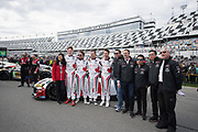 January 24-27, 2019. IMSA Weathertech Series ROLEX Daytona 24. #88 WRT Speedstar Audi Sport Audi R8 LMS GT3, GTD: Frederic Vervisch, Kelvin van der Linde, Ian James, Roman DeAngelis