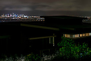 Expensive views from the hinterland at night.