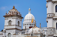 Sri Lanka, province de l'Ouest, Colombo, mosquee Devatagaha et Hotel de ville // Sri Lanka, Colombo, Devatagaha Mosque and Town Hall