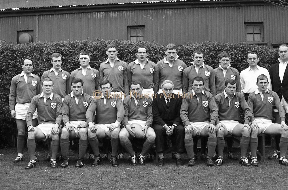 Irish Rugby Football Union, Ireland v Scotland, Five Nations, Landsdowne Road, Dublin, Ireland, Saturday 24th February, 1968,.24.2.1968, 2.24.1968,..Referee- M Joseph, Welsh Rugby Union, ..Score- Ireland 14 - 6 Scotland, ..Irish Team, ..T J Kiernan,  Wearing number 15 Irish jersey, Captain of the Irish team, Full Back, Cork Constitution Rugby Football Club, Cork, Ireland,..A T A Duggan, Wearing number 14 Irish jersey, Right Wing, Landsdowne Rugby Football Club, Dublin, Ireland,..B A P O'Brien, Wearing number 13 Irish jersey, Right Centre, Shannon Rugby Football Club, Limerick, Ireland,..F P K Bresnihan, Wearing number 12 Irish jersey, Left Centre, University College Dublin Rugby Football Club, Dublin, Ireland, ..R D Scott, Wearing number 11 Irish jersey, Left Wing, Queens University Rugby Football Club, Belfast, Northern Ireland, ..C M H Gibson, Wearing number 10 Irish jersey, Stand Off, N.I.F.C, Rugby Football Club, Belfast, Northern Ireland, ..B F Sherry, Wearing number 9 Irish jersey, Scrum Half, Terenure Rugby Football Club, Dublin, Ireland, ..K G Goodall, Wearing number 8 Irish jersey, Forward, City of Derry Rugby Football Club, Derry, Northern Ireland,..T J Doyle, Wearing number 7 Irish jersey, Forward, Wanderers Rugby Football Club, Dublin, Ireland, ..M G Doyle, Wearing number 6 Irish jersey, Forward, Blackrock College Rugby Football Club, Dublin, Ireland,  ..W J McBride, Wearing number 5 Irish jersey, Forward, Ballymena Rugby Football Club, Antrim, Northern Ireland,..M G Molloy, Wearing number 4 Irish jersey, Forward, University College Galway Rugby Football Club, Galway, Ireland,  ..P O'Callaghan, Wearing number 3 Irish jersey, Forward, Dolphin Rugby Football Club, Cork, Ireland, ..A M Brady, Wearing number 2 Irish jersey, Forward, Malone Rugby Football Club, Belfast, Northern Ireland, ..S Millar, Wearing number 1 Irish jersey, Forward, Ballymena Rugby Football Club, Antrim, Northern Ireland,.. .