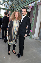 NICOLE FARHI and MATTHEW WILLIAMSON at the Fashion Rules Exhibition Opening at Kensington Palace, London W8 on 4th July 2013.