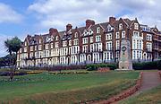 AE2KP7 Hotels and public gardens Hunstanton Norfolk England