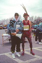 Sue Lane Pre-Race Massage For 1991 Boston Marathon