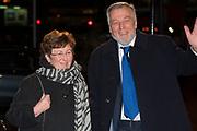 Viering  van de 75ste verjaardag van Pieter Van Vollenhoven in het Beatrix theater, Utrecht<br /> <br /> Celebrating the 75th anniversary of Pieter Van Vollenhoven in the Beatrix Theater, Utrecht<br /> <br /> Op de foto / On the photo: Nico de Haan en partner