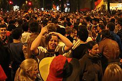 23.06.2010, Leopoldstrasse Schwabing, Muenchen, GER, FIFA Worldcup, Fanfeier nach Ghana vs Deutschland,  im Bild Fans, EXPA Pictures © 2010, PhotoCredit: EXPA/ nph/  Straubmeier / SPORTIDA PHOTO AGENCY