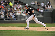 CHICAGO - MAY 01:  Gordon Beckham #15 of the Chicago White Sox runs the bases against the Baltimore Orioles on May 1, 2011 at U.S. Cellular Field in Chicago, Illinois.  The Orioles defeated the White Sox 6-4.  (Photo by Ron Vesely)  Subject:   Gordon Beckham.