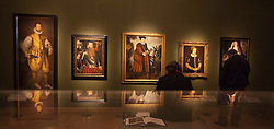 "© Licensed to London News Pictures. 09/10/2013. London, England. Press preview of the exhibition ""Elizabeth I & Her People"" at the National Portrait Gallery which explores the remarkable reign of Elizabeth I through the lives and portraiture of her subjects. Exhibition runs from 10 October 2013 to 5 January 2014. Photo credit: Bettina Strenske/LNP"