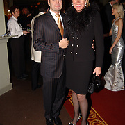 Kerstborrel Princess 2004, Monique Collignon en partner Jan-Henny Holvast