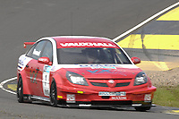 2008 British Touring Car Championship.  Knockhill, Scotland, United Kingdom.  16th-17th August 2008.  (1) - Fabrizio Giovanardi (ITA) - VX Racing Vauxhall Vectra.  World Copyright: Peter Taylor/PSP. Copy of publication required for printed pictures. Every used picture is fee-liable.