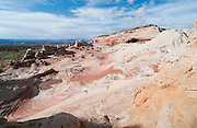 View of White Pocket area of the Paria Canyon Wilderness, northern Arizona, US