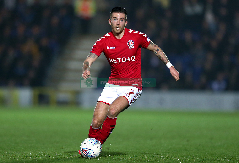 Charlton Athletic's Lewis Page