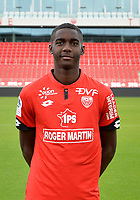 Eden MASSOUEMA during photoshooting of Dijon FCO for new season 2017/2018 on September 11, 2017 in Dijon, France. (Photo by Vincent Poyer/Icon Sport)
