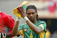 FOTBALL - CONFEDERATIONS CUP 2003 - GROUP B - KAMERUN V TYRKIA - 030621 - RIGOBERT SONG (CAM) - PHOTO STEPHANE MANTEY / DIGITALSPORT