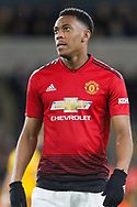 Manchester United Forward Anthony Martial during the The FA Cup match between Wolverhampton Wanderers and Manchester United at Molineux, Wolverhampton, England on 16 March 2019.