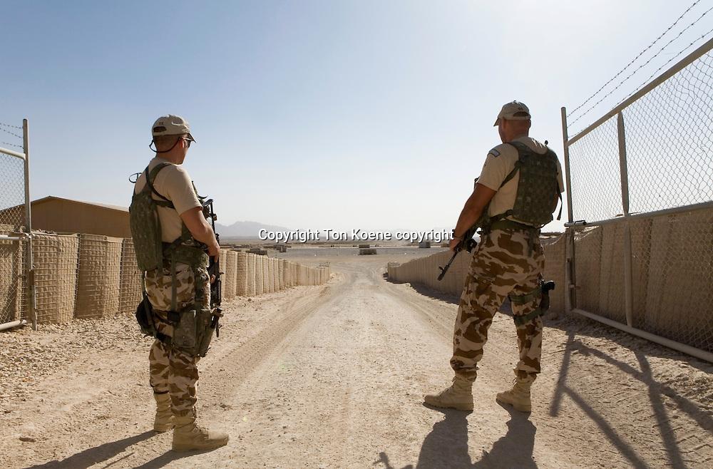 Dutch troops in Uruzgan, Afghanistan.