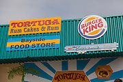 Advertisement for Burger King in Nassau , Bahamas.