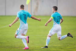 Alen Ozbolt of Slovenia celebrate during football match between Slovenia U21 and Luxemburg U21 in Qualifications for European Championship 2019 , on September 1, 2017 in Stadion Ajdovscina, Ajdovscina. Photo by Ziga Zupan / Sportida