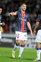 FOOTBALL - FRENCH CHAMPIONSHIP 2010/2011 - L1 - LILLE OSC v PARIS SG - 15/08/2010 - PHOTO JEAN MARIE HERVIO / DPPI - MATHIEU BODMER (PSG)