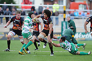 Magners league, Newport Gwent Dragons v Benetton Treviso at Rodney Parade in Newport  on Sunday 3rd April 2011. pic by Andrew Orchard, Andrew Orchard sports photography,