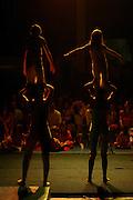 Belo Horizonte_MG, Brasil. ..Apresentacao da Spasso Escola de Circo. Na foto acrobatas...The Spasso Circus School presentation. In this photo acrobats...Foto:  LEO DRUMOND / NITRO