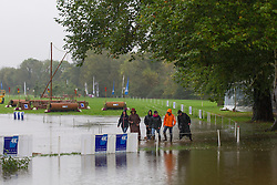 Tim Lips (NED)<br /> Floated fences at the 'Mondial du Lion 2012'<br /> Mondial du Lion 2012 - Le Lion d'Angers 2012<br /> © Dirk Caremans