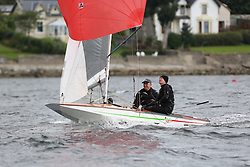 Marine Blast Regatta 2013 - Holy Loch SC<br /> <br /> 14452, Bitter & Twisted, John Orr, Fireball<br /> <br /> Credit: Marc Turner / PFM Pictures