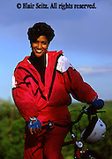 Bicycling, Pennsylvania, Outdoor recreation, Biking in PA Young Adult Female African American Biker, York Co., PA, Park