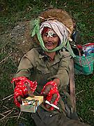 Vietnam, : drunk man minorities