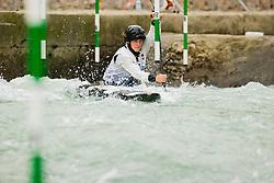 Lea NOVAK (SLO) during Canoe Semi Finals at World Cup Tacen, 18 October 2020, Tacen, Ljubljana Slovenia. Photo by Grega Valancic / Sportida