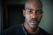 MILWAUKEE, WI -- 8/12/15 -- Nate Hamilton, 33, became a social justice activist after his brother Dontre Hamilton, who suffered from mental illness, was shot by a Milwaukee Police Officer. He was unarmed when approached by Ofc. Christopher Manney, although he did take the officer's nightstick after being struck. No charges were filed against the officer after an 18-month investigation by DA John Chisholm.…by André Chung #_AC13131