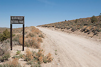 Western boundary of Death Valley National Park, California, northwest of Lee Flat.
