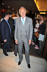 HAROLD TILLMAN at a party to celebrate the launch of Romance by Chris Craymer - a book celebrating love, held at Mulberry, 41/42 New Bond Street, London W1 on 20th May 2009.