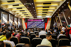 June 27, 2018 - Cairo, Egypt - The Egyptian Football Federation press conference after egyptian team leave world cup from group stage, Cairo, Egypt. June 27 2018. (Credit Image: © Islam Safwat/NurPhoto via ZUMA Press)