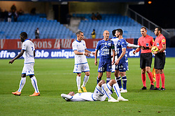 October 1, 2018 - Troyes, France - EQUIPE DE FOOTBALL D AUXERRE - DECEPTION (Credit Image: © Panoramic via ZUMA Press)