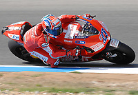 20091003: ESTORIL, PORTUGAL - Moto GP 2009 - Portugal Grand Prix: Qualifying. In picture: Casey STONER - MotoGP. PHOTO: Alvaro Isidoro/CITYFILES
