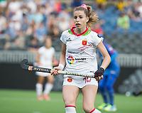 BRUXELLES (Belgium) -  Berta BONASTRE (SPA)    during Hockey World League women (semi final competition)  SPAIN v MALAYSIA .  COPYRIGHT KOEN SUYK