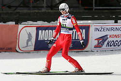 Mitja Meznar (SLO) at Qualification's 1st day of 32nd World Cup Competition of FIS World Cup Ski Jumping Final in Planica, Slovenia, on March 19, 2009. (Photo by Vid Ponikvar / Sportida)