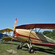 Planes at Rhinebeck Aerodrome
