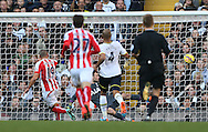 Stoke's Jon Walters scoring his sides second goal<br /> <br /> - Barclays Premier League - Tottenham Hotspur vs Stoke City- White Hart Lane - London - England - 9th November 2014  - Picture David Klein/Sportimage