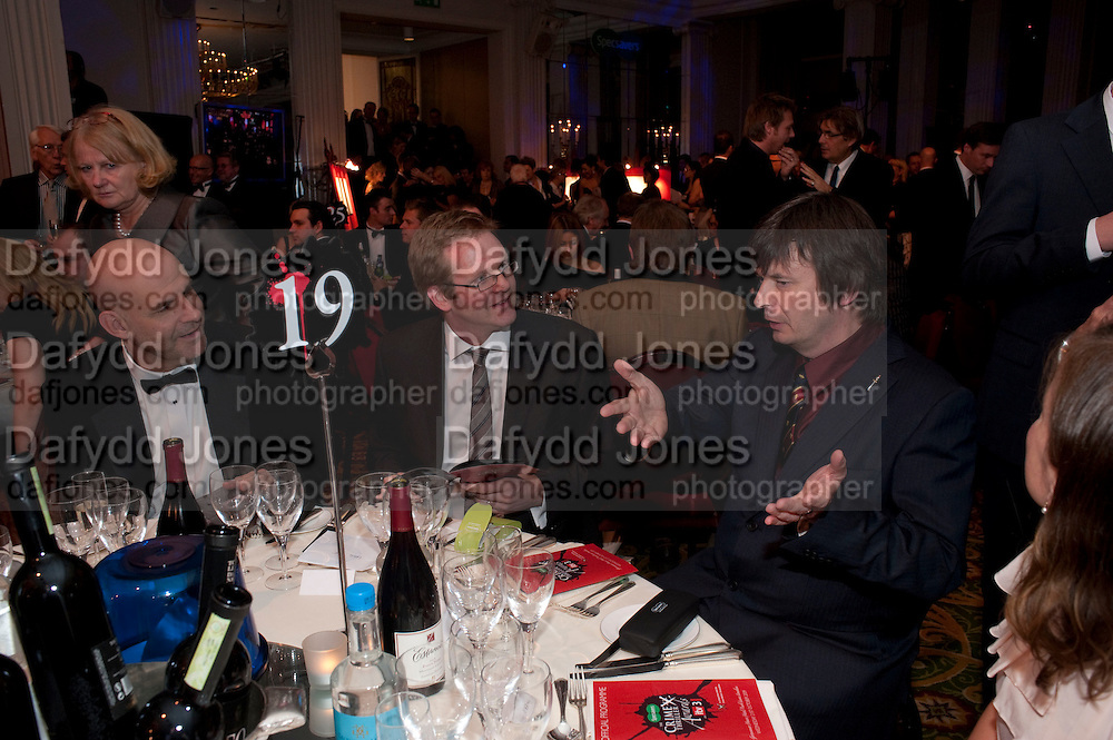 WILL COBEN; HARLAN COBEN; JON WOOD; IAN RANKIN, , Specsavers Crime Thriller Awards.  Award ceremony celebrating the best in crime fiction and television. <br /> Grosvenor House Hotel, Park Lane, London. 21 October 2009
