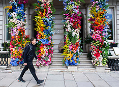 Coya Mayfair Flowers 24th May 2021