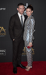 November 5, 2017 - Beverly Hills, California, United States of America - Jamie Bell and Kate Mara at the 21st Annual Hollywood Film Awards at The Beverly Hilton Hotel in Beverly Hills, California on Sunday November 5, 2017. JAVIER ROJAS/PI (Credit Image: © Prensa Internacional via ZUMA Wire)