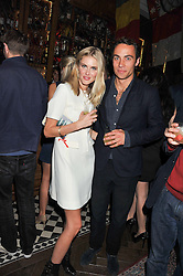 JAMES MIDDLETON and DONNA AIR at a party to celebrate the launch Mr Fogg's, 15 Bruton Lane, London W1 on 21st May 2013.