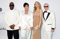 May 23, 2019 - Antibes, Alpes-Maritimes, Frankreich - Corey Gamble, Kris Jenner, Dee Ocleppo and Tommy Hilfiger attending the 26th amfAR's Cinema Against Aids Gala during the 72nd Cannes Film Festival at Hotel du Cap-Eden-Roc on May 23, 2019 in Antibes (Credit Image: © Future-Image via ZUMA Press)