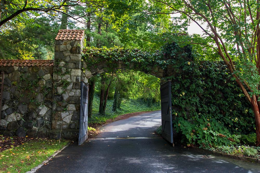October 10, 2017: Images of the Biltmore Estate in Asheville, NC.