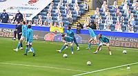 Blackburn Rovers players warm up<br /> <br /> Photographer Dave Howarth/CameraSport<br /> <br /> The EFL Sky Bet Championship - Blackburn Rovers v Reading - Saturday 18th July 2020 - Ewood Park - Blackburn<br /> <br /> World Copyright © 2020 CameraSport. All rights reserved. 43 Linden Ave. Countesthorpe. Leicester. England. LE8 5PG - Tel: +44 (0) 116 277 4147 - admin@camerasport.com - www.camerasport.com