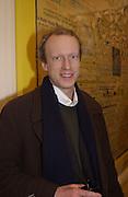 Sebastian Boyle. Keith Tyson: Supercollider. South London Gallery, 16 January 2002. © Copyright Photograph by Dafydd Jones 66 Stockwell Park Rd. London SW9 0DA Tel 0171 733 0108 www.dafjones.com