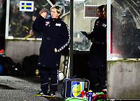 Fotball , 30. oktober 2013 , Privat kamp kvinner U23 , Norge- Sverige 1-0<br /> U23 Norway - Sweden<br /> Gøril Kringen , trener Norge