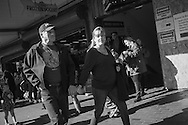 2016 October 22 - Street scene at entrance to Pike Place Market, Seattle, WA, USA. By Richard Walker